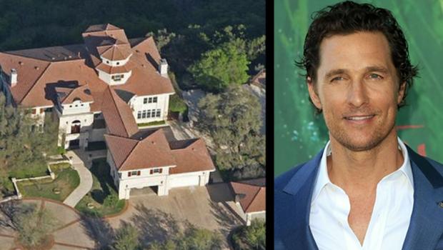 maison Matthew McConaughey