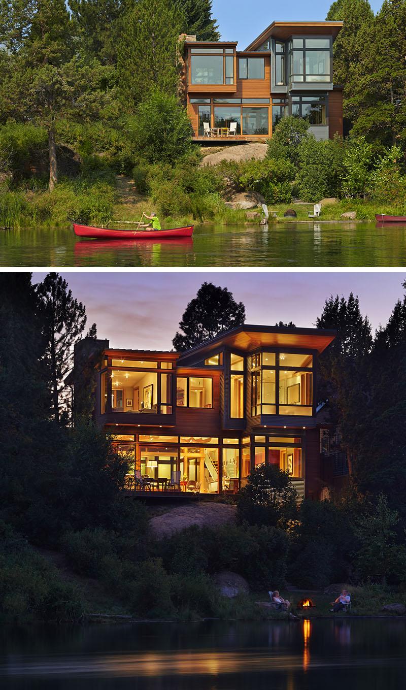 20 exemples impressionnants d 39 architecture du nord ouest for Maison nord