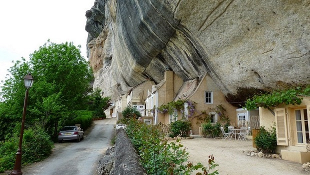 Les maisons troglodytes des Eyzies-de-Tayac