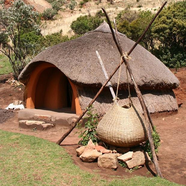 basotho hutte