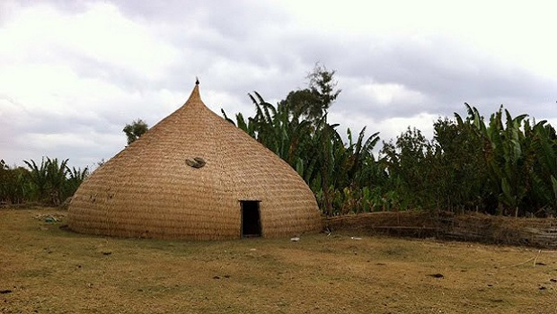 La hutte traditionnelle du peuple Sidama