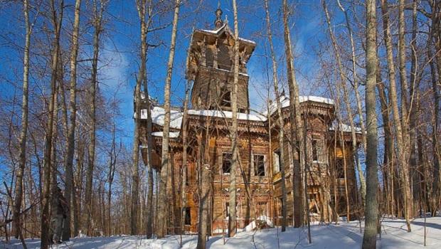 maison bois russie