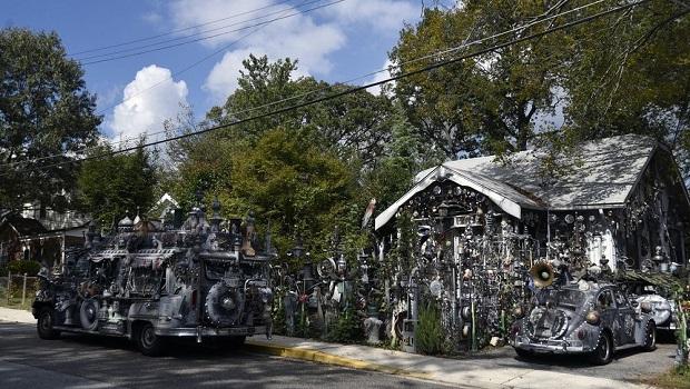L'étrange maison de Clarke Bedford