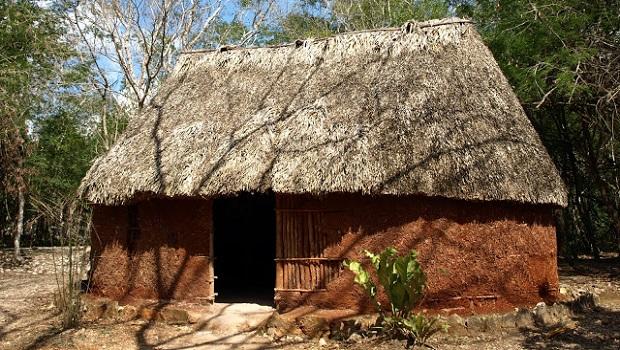 maisons maya
