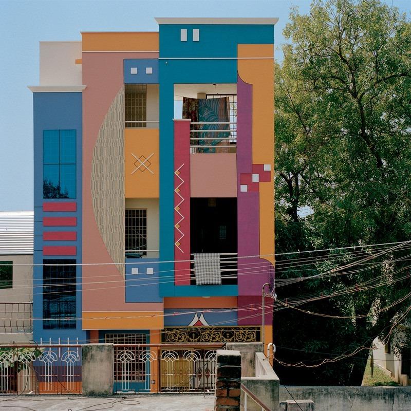 Les Maisons Color Es De Tiruvannamalai