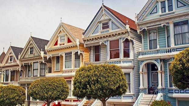 Les Painted Ladies de San Francisco