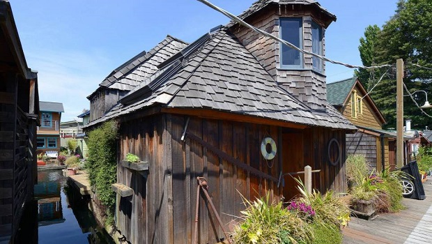 Une maison flottante étonnante à Seattle