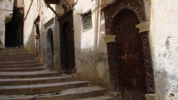Les vieilles maisons de la Casbah d'Alger