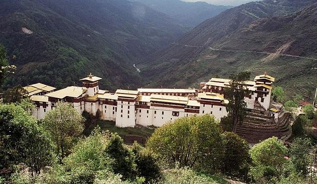 dzongs bhoutan