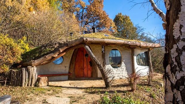 Une maison de style Hobbit magnifique
