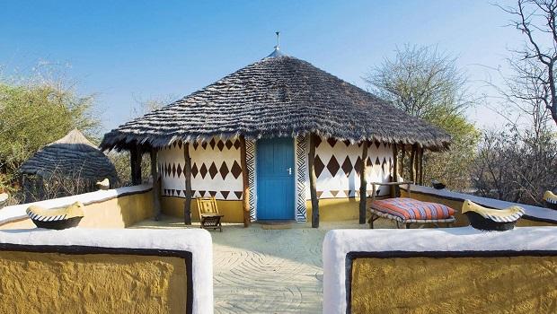 hutte traditionnelle bostwana