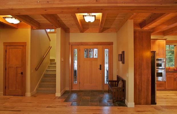 intérieur maison craftsman