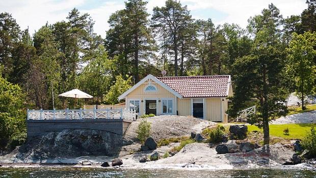 Une maison typique de 1934 rénovée en Suède