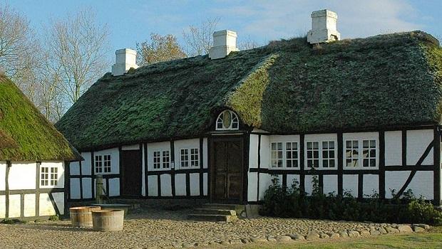 maison à colombages danemark