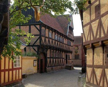 maison colombages danemark