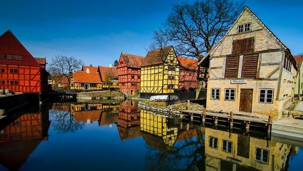 maisons à colombages au danemark