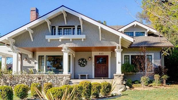 maison de style craftsman