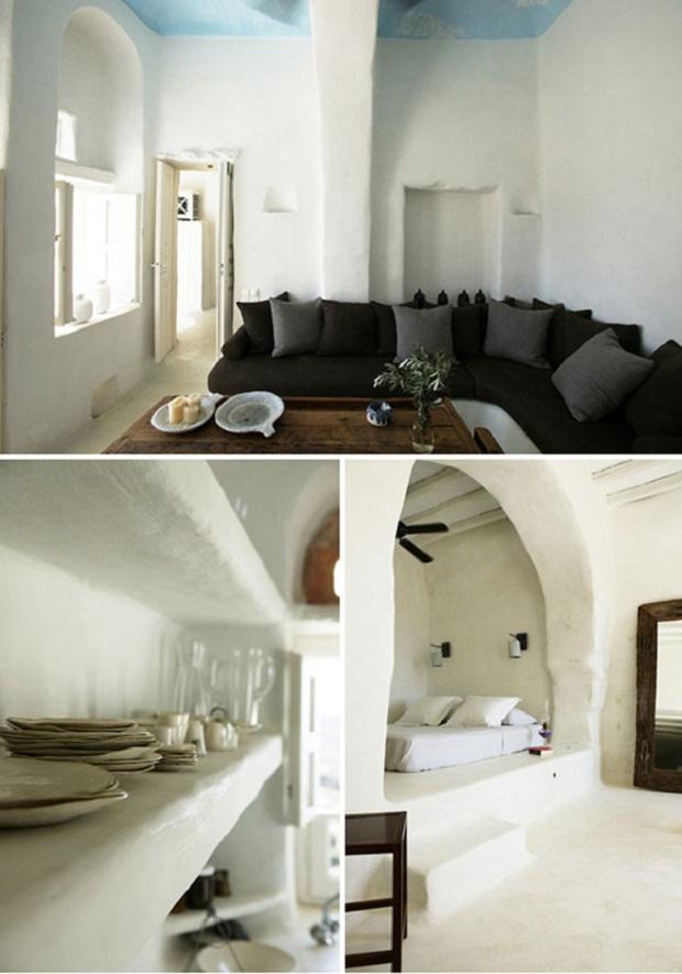 Alcove Maison : Maison grecque traditionnelle sur l île de tinos
