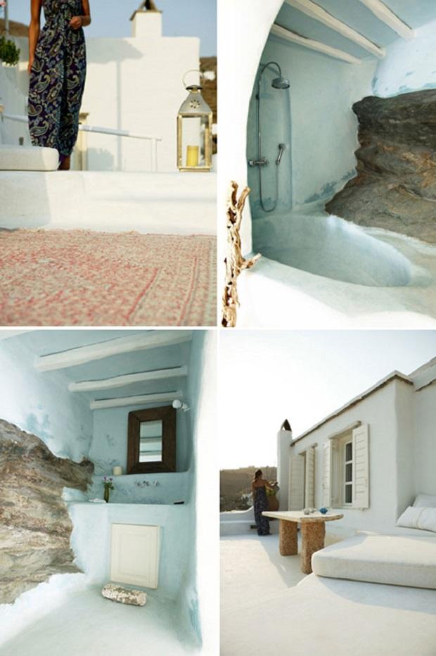 Maison Grecque Traditionnelle Sur L 238 Le De Tinos