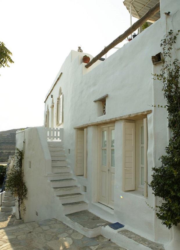 maison grecque traditionnelle sur l 39 le de tinos On maison traditionnelle grecque