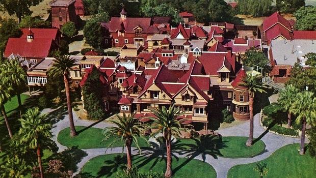 La maison mystère que Sarah Winchester n'a pas pu arrêter de construire