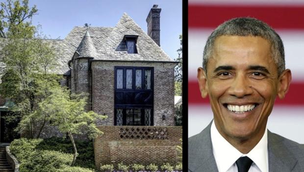 La famille Obama va emménager à Kalorama quand ils quitteront la Maison Blanche