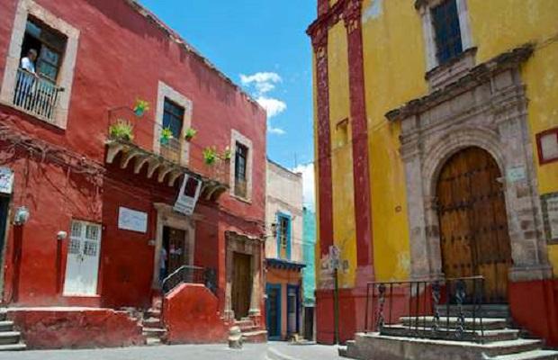 maisons colorees guanajuato