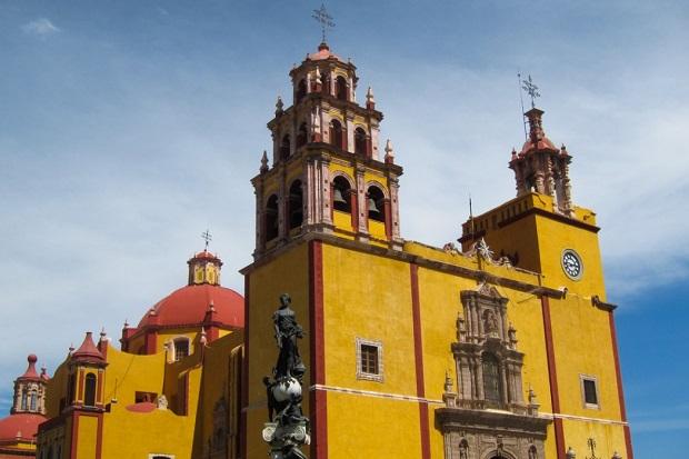 basilique de Notre Dame de Guanajuato
