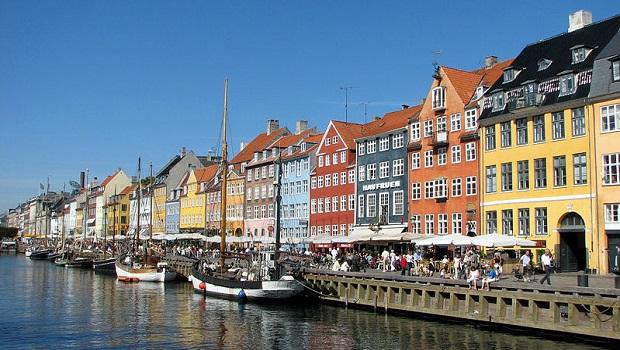 Les maisons colorées de Nyhavn