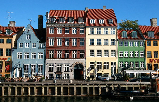 maisons colorées nyhavn