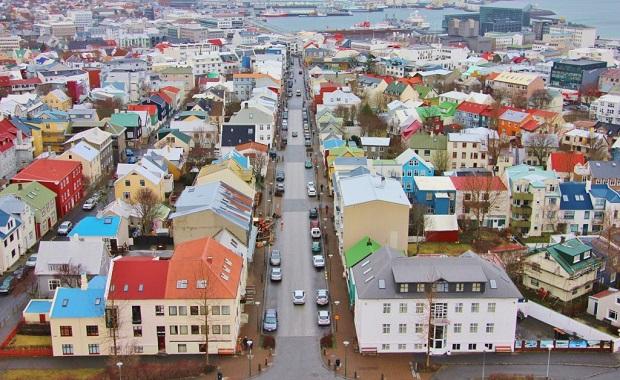 maisons colorées de reykjavik