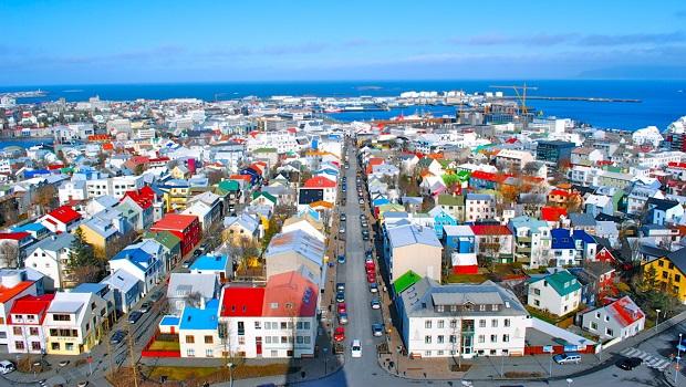 les maisons colorées de reykjavik