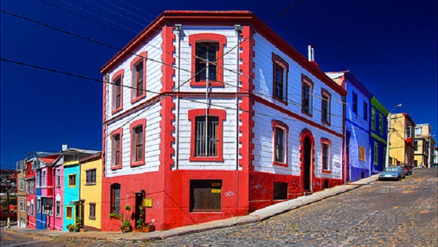 maisons colorees valparaiso