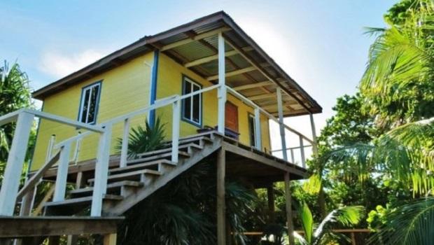 Les petites maisons du Belize