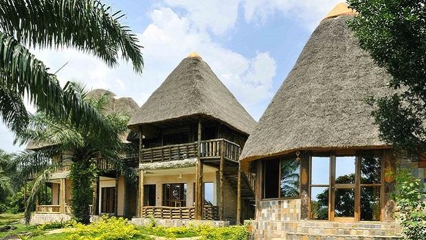 Des maisons au toit de chaume magnifiques