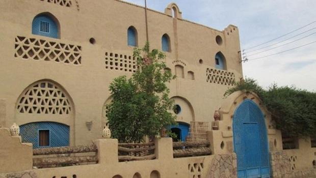 maison typique égyptienne