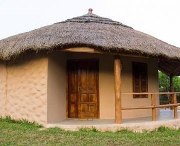 huttes ghana