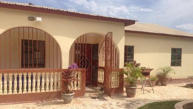 Villa typique de Gambie