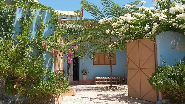 maison colorée égypte