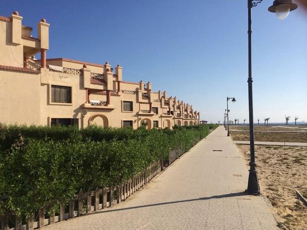 Maison moderne en Égypte