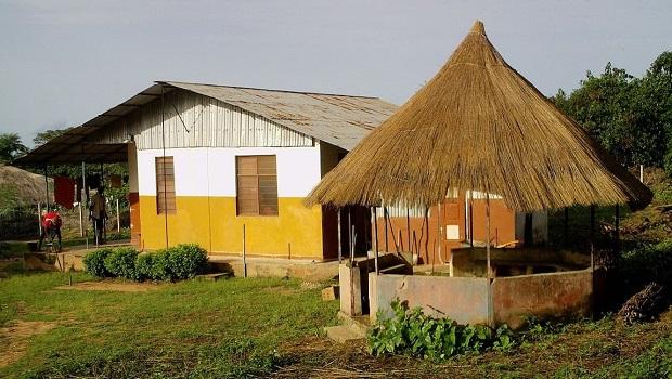 maison rurale guinée bissau