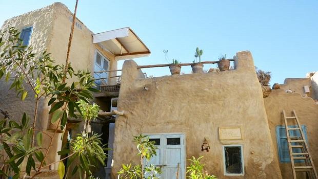 maison traditionnelle egypte