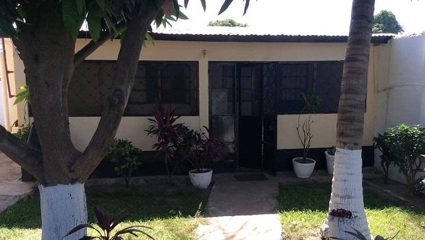 maison typique ville gambie
