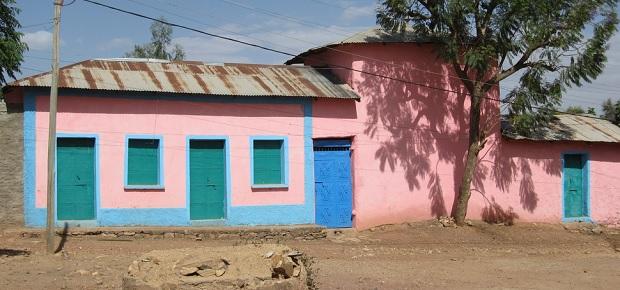 maison colorée aksoum