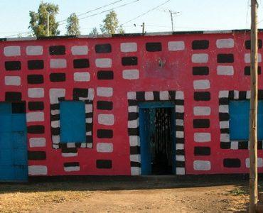 maison colorée axoum