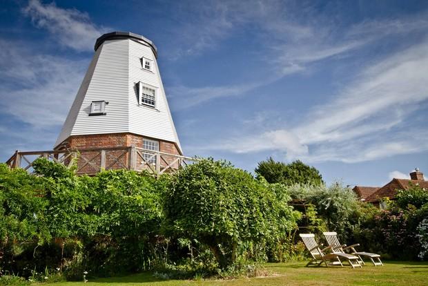 vieux moulin rénové maison