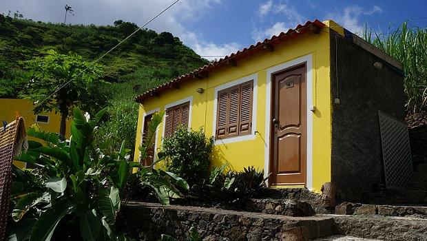 maison typique du cap vert