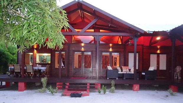 villa plage gabon