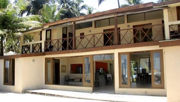 Une villa de bord de mer en Côte d'Ivoire