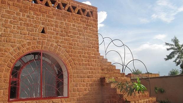 Une voûte nubienne à Ouagadougou
